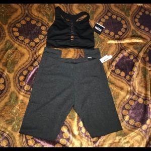 Victoria's Secret sport legging and bra set